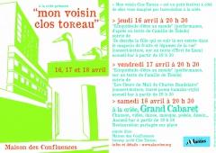 A la criée,Clos Toreau,festival,poésie